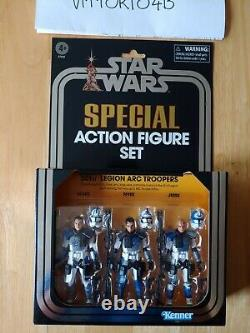 Star Wars The Vintage Collection Clone Wars 501st Legion ARC Trooper IN HAND