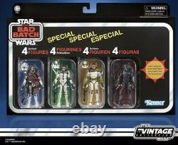 Star Wars The Vintage Collection The Bad Batch Special 4 PACK (AMAZON EXCLUSIVE)