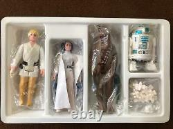 Star Wars Vintage 1977 Kenner Early Bird Set Luke DT Original Baggies Sealed