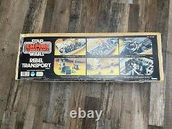 Star Wars Vintage 1982 Rebel Transport MIB boxed catalog/unused stickers