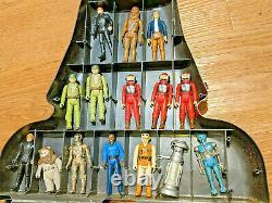Star Wars Vintage 31 Figure Lot with Vader Case! Rebels & Aliens Kenner Army vtg