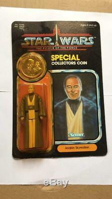 Star Wars Vintage Anakin With Coin real item not custum make in hong kong