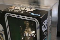 Star Wars Vintage C-3PO C3PO AFA 80 Graded MISB 1978 12 Inch Large Kenner Doll