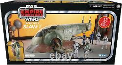 Star Wars Vintage Collection 3.75Figure Vehicle Slave 1 One Boba Fett In Stock