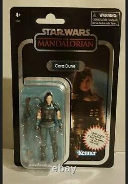 Star Wars Vintage Collection Cara Dune The Mandalorian Carbonized GINA CARANO