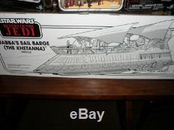Star Wars Vintage Collection Jabba's Sail Barge-Khettana ROTJ Bundle