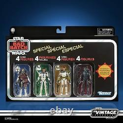 Star Wars Vintage Collection The Bad Batch Special 4 Pre-sale January