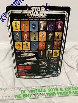 Star Wars Vintage Die Cast Darth Vader Tie Fighter Bubble Sealed 100 % Original