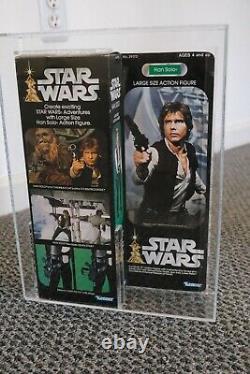 Star Wars Vintage Han Solo AFA 85 Graded MISB 1978 12 Inch Large Kenner Doll