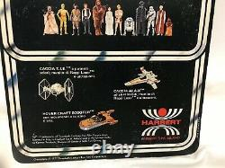 Star Wars Vintage Harbert CHEWBACCA 12 Back MOC UNPUNCHED Acrylic Case