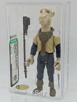Star Wars Vintage Kenner 1985 AFA 85+ Yak Face No COO