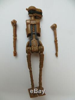 Star Wars Vintage Kenner POTF Last 17 EV-9D9 Droid Figure w 2 Broken Arms 1985