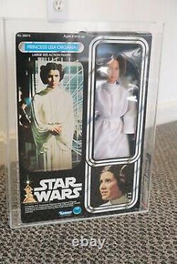 Star Wars Vintage Leia Organa AFA 85 Graded MISB 1978 12 Inch Large Kenner Doll