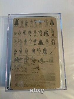 Star Wars Vintage Lili Ledy 30 Back Regreso Luke Skywalker Jedi AFA 80 80/80/85