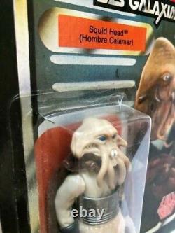 Star Wars Vintage Lili Ledy Burgundy Cape Squid Head 14 Back Very Rare Mexico