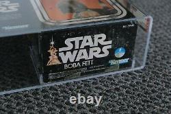 Star Wars Vintage MISB Boba Fett AFA 80 Graded Star Wars 1979 12 Inch Large Size