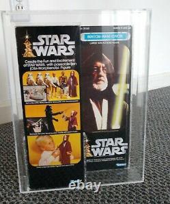Star Wars Vintage Obi Wan Ben Kenobi AFA 80 MISB 1978 12 Inch Large Kenner READ