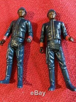 Star Wars Vintage Slave 1 COMPLETE Kenner 1981 with Bespin Guards I Ramp Carbonite