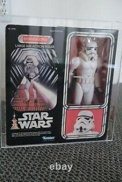 Star Wars Vintage Stormtrooper AFA 80 Graded MISB 1978 12 15 Inch Large Kenner