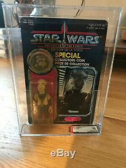 Star Wars Vintage YAK FACE POTF 92 back Power of the Force MOC AFA 85 (80-85-90)