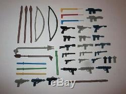 Star Wars Weapons For Vintage Figures REPROS