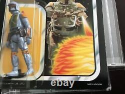 Star Wars vintage moc boba fett may be tt UKG AFA last 17 ROTJ esb sw