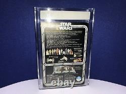 Star wars vintage unpunched 12-back Leia Organa AFA 80