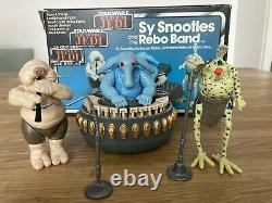 Sy Snootles and the Rebo Band Kenner Star Wars vintage 1984