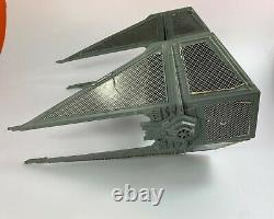 Tie Interceptor Vintage Star Wars ROTJ Vehicle Ship 1978 Kenner Complete Works