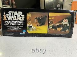 ^VINTAGE 70'S KENNER STAR WARS RADIO CONTROLLED SANDCRAWLER With BOX. NO REMOTE