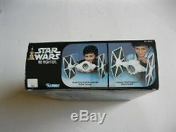 VINTAGE KENNER STAR WARS TIE FIGHTER FIGURE VEHICLE 100% COMPLETE With BOX ETC