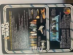 VINTAGE STAR WARS OBI WAN KENOBI action figure 1977 MOC 12 back unpunched