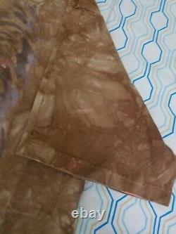 VTG 90s Star Wars Liquid Blue Chewbacca T Shirt Tie Dye All Over Print Movie XL