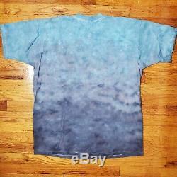 VTG Star Wars Episode 1 Phantom Menace Liquid Blue T-shirt XXL
