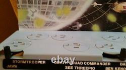 Vintage 1977 Kenner General Mills STAR WARS mail away figure display stand