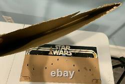 Vintage 1977 Kenner Star Wars Early Bird Certificate Package Figure Stand
