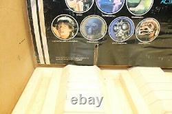 Vintage 1978 Star Wars Store Display 12 Back Bin And Header Yt70