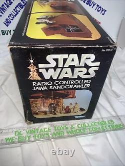 Vintage 1979 STAR WARS Jawa SANDCRAWLER Complete With Box/Insert L@@K Works