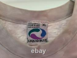 Vintage 1997 Star Wars Boba Fett Liquid Blue T-shirt Size XL Mandalorian Rare