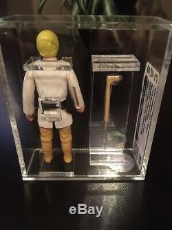 Vintage CAS AFA 85 Star Wars Early Bird Luke Skywalker DT Double Telescoping