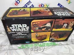 Vintage Kenner 1977 Star wars radio controlled Jawa sandcrawler Unused In Box