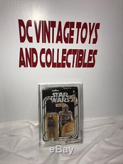 Vintage Kenner 1979 Star Wars Boba Fett 21-Back -B AFA 85 Beautiful L@@K