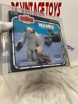 Vintage Kenner 1982 The Empire Strikes Back Star Wars ESB Wampa AFA 75+ -SEALED