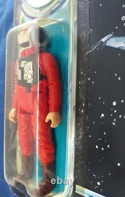 Vintage Kenner Star Wars 1984 Rotj Potf B-wing Pilot 92 Back Moc Sealed Nos Hk