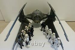 Vintage Kenner Star Wars Action Figures Lot Imperial Army + 1984 Tie Interceptor