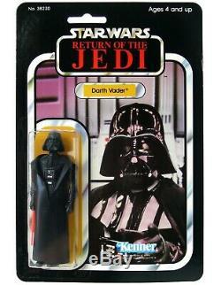 Vintage Kenner Star Wars Darth Vader Mexico Lili Ledy Crystal Clear MOC AFA It