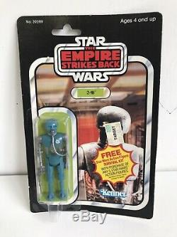 Vintage Kenner Star Wars ESB 2-1B 21B 41 Back Kenner MOC Clear Bubble