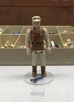 Vintage Kenner Star Wars Figure Lot with Original Weapons