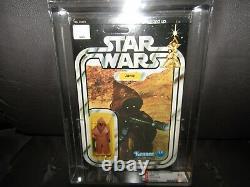 Vintage Kenner Star Wars JAWAVINYL CAPEfigure, AFA70EX+UNpeg, NO SPOTS, moc, GRAIL