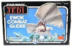 Vintage Kenner Star Wars Return of the Jedi Ewok Combat Glider Vehicle d887